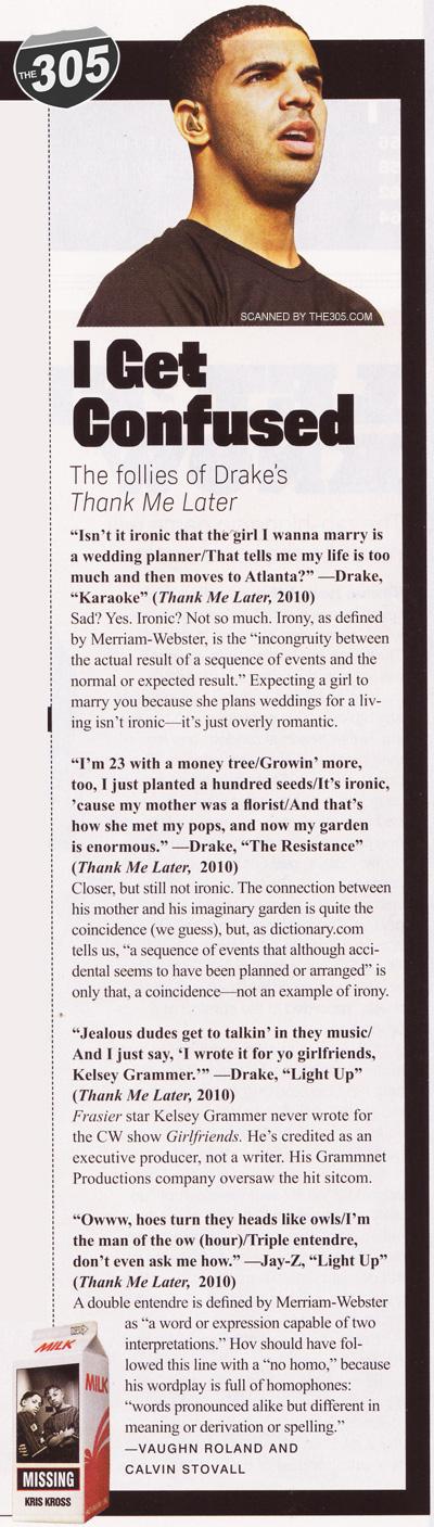 Drake - XXL Article