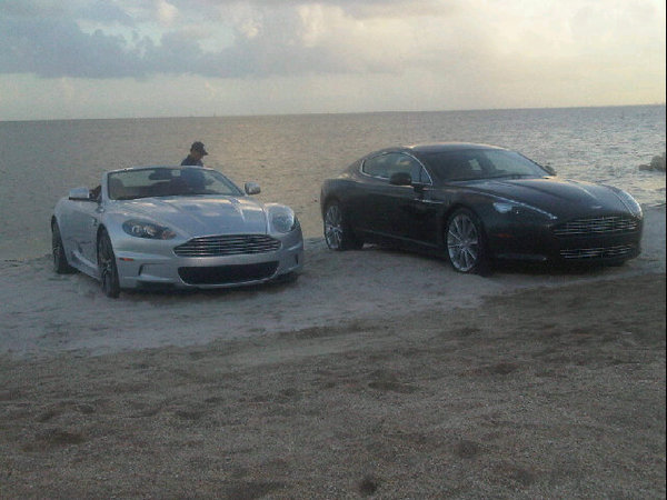 pictures: rick ross – aston martin music video shoot photos