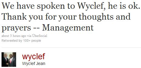 wyclef-tweet