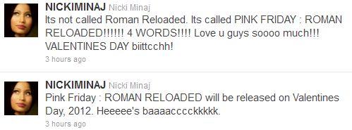 nicki-album-tweet