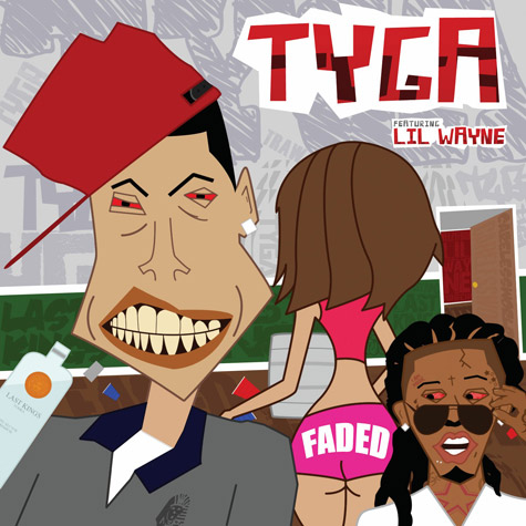 Tyga - Faded (feat. Lil Wayne) [2012-Single][SW]