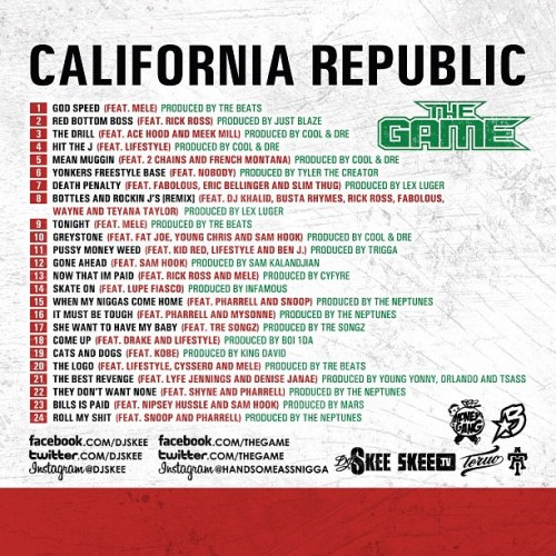 california-republic-track-list