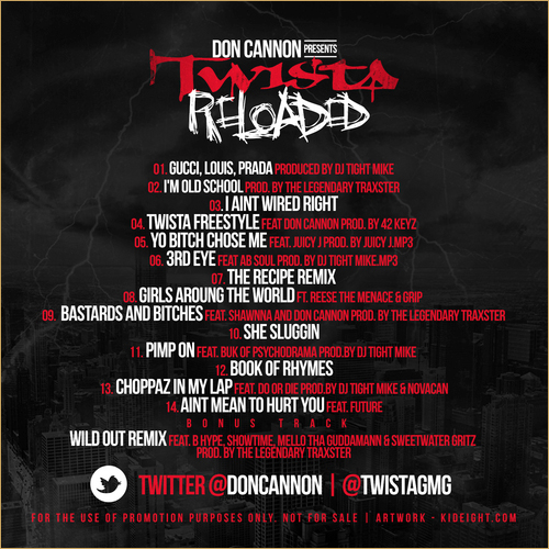TWISTA-reloaded-tracklist