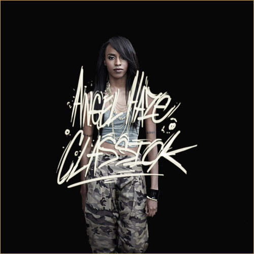 Angel Haze Classick mixtape cover