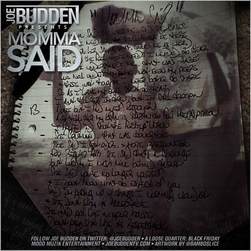 Joe Budden Momma Said cover art