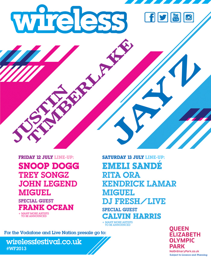 Jay-Z & Justin Timberlake Set To Headline Wireless ...
