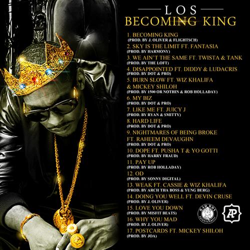 los-becoming-king-back