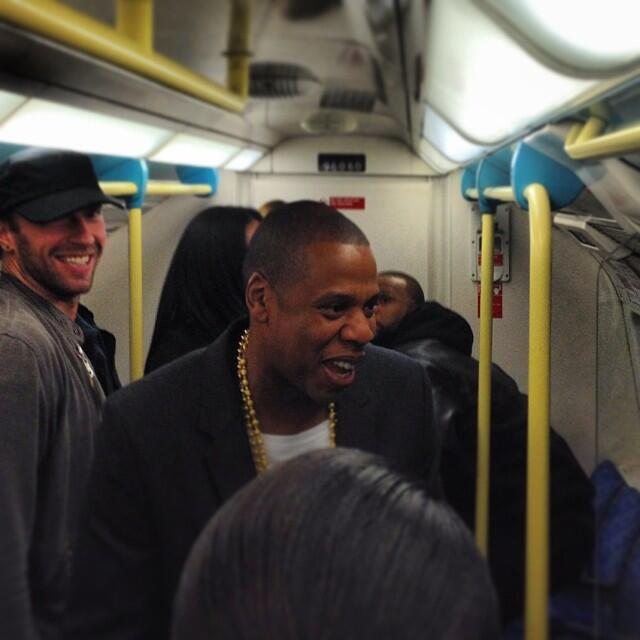 Jay-Z-and-Chris-Martin-On-The-Tube