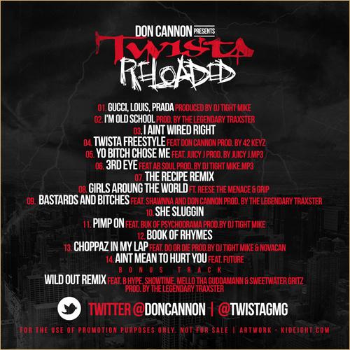 TWISTA-reloaded-tracklist