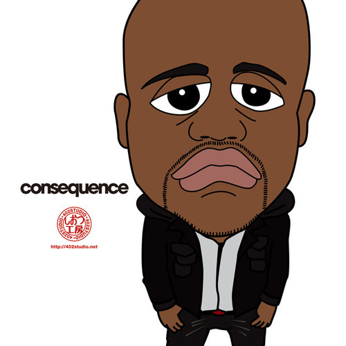 consequence-black-skinhead