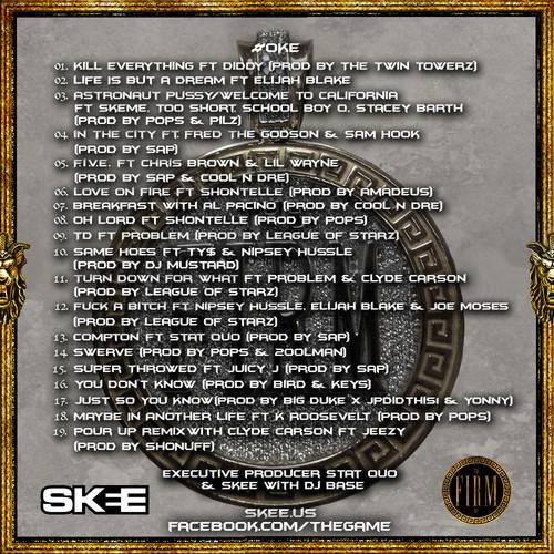 the-game-oke-tracklist