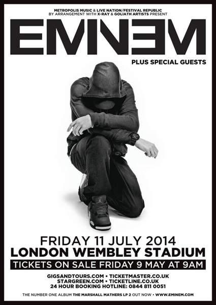 eminem-wembley-concert-flyer