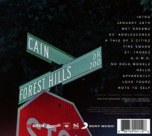 forest hill tracklist