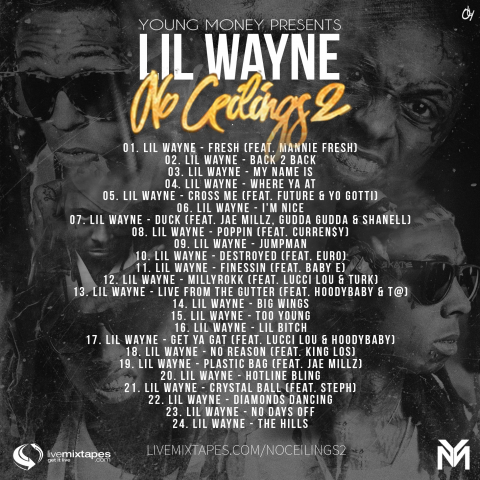 no-ceilings2-tracklist